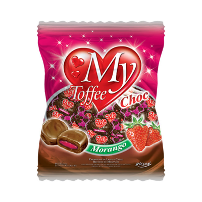 Riclan Bala My Toffee Morango/chocolate
