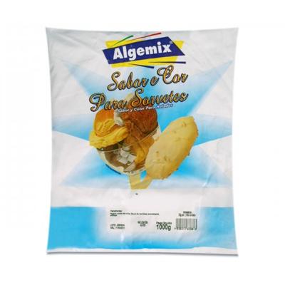 Duas Rodas Base P/sorvete Algemix Choc. Branco 1kg