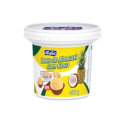 Alispec Doce De Abacaxi Com Coco 400gr
