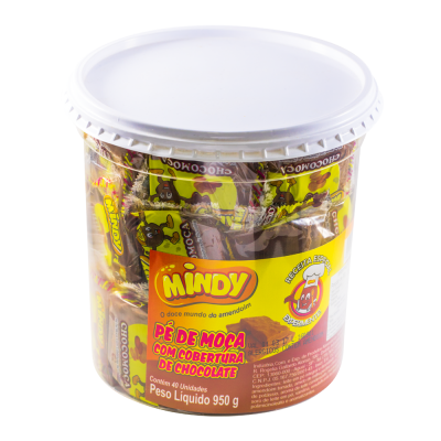Mindy Pe De Moca C/chocolate 950gr 40un
