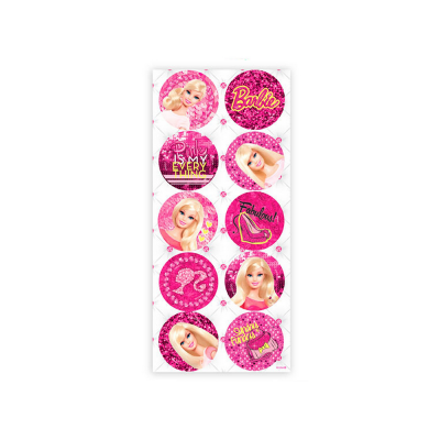 Regina Adesivo Redondo Barbie Core Ref 738