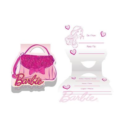 Regina Convite Barbie Core Ref 738