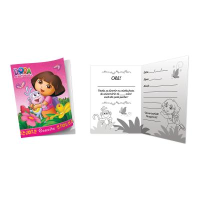 Festcolor Convite Dora Aventureira