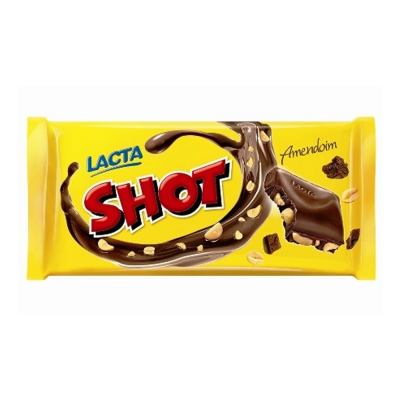 Mondelez Chocolate Shot Amendoim 400gr