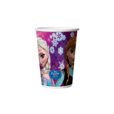 Regina Copo De Papel Frozen 2 180ml  C/8 Unid.